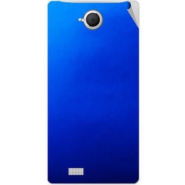 Snooky 43364 Mobile Skin Sticker For Intex Aqua N17 - Blue