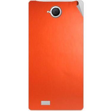 Snooky 43370 Mobile Skin Sticker For Intex Aqua N17 - Orange