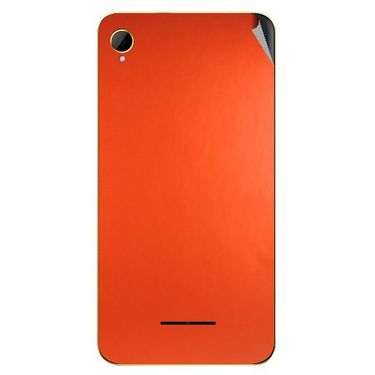 Snooky 43382 Mobile Skin Sticker For Intex Aqua Power HD - Orange