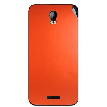 Snooky 43406 Mobile Skin Sticker For Intex Aqua Q1 - Orange