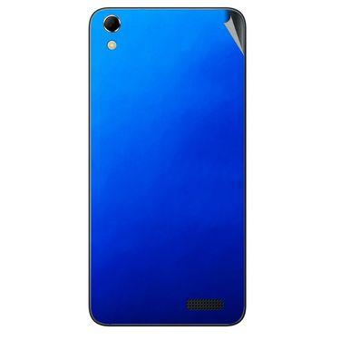 Snooky 43412 Mobile Skin Sticker For Intex Aqua Q3 - Blue
