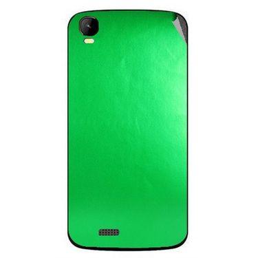 Snooky 43444 Mobile Skin Sticker For Intex Aqua Speed - Green