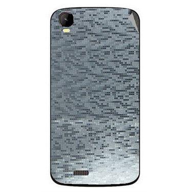 Snooky 43445 Mobile Skin Sticker For Intex Aqua Speed - silver