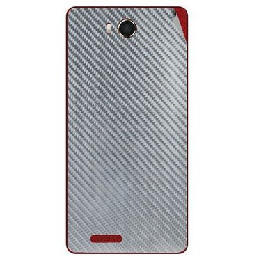 Snooky 43470 Mobile Skin Sticker For Intex Aqua Star Hd - silver