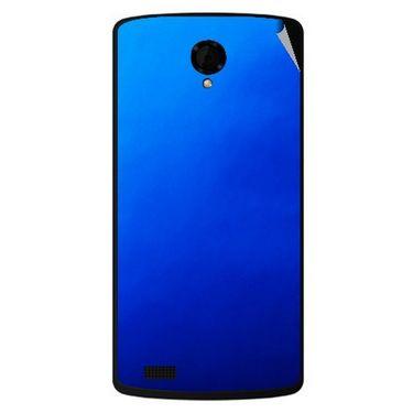Snooky 43472 Mobile Skin Sticker For Intex Aqua Star Power - Blue