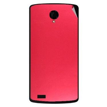 Snooky 43474 Mobile Skin Sticker For Intex Aqua Star Power - Red