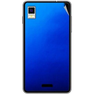 Snooky 43484 Mobile Skin Sticker For Intex Aqua Style - Blue