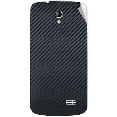 Snooky 43495 Mobile Skin Sticker For Intex Aqua SUPERB - Black