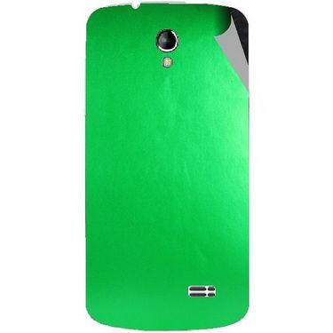 Snooky 43504 Mobile Skin Sticker For Intex Aqua SUPERB - Green