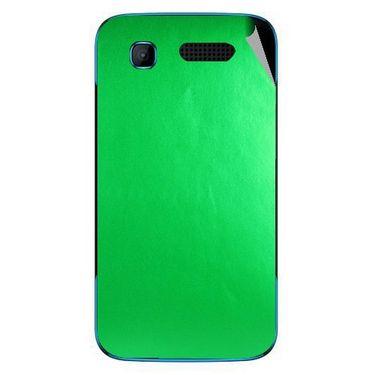 Snooky 43528 Mobile Skin Sticker For Intex Aqua T3 - Green