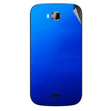 Snooky 43532 Mobile Skin Sticker For Intex Aqua Wonder - Blue