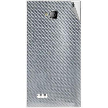 Snooky 43554 Mobile Skin Sticker For Intex Aqua Y2 - silver