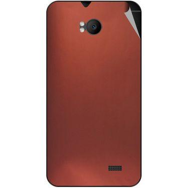 Snooky 43571 Mobile Skin Sticker For Intex Aqua Y2 Remote - Copper