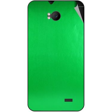 Snooky 43576 Mobile Skin Sticker For Intex Aqua Y2 Remote - Green