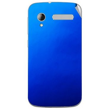 Snooky 43592 Mobile Skin Sticker For Intex Cloud Y12 - Blue