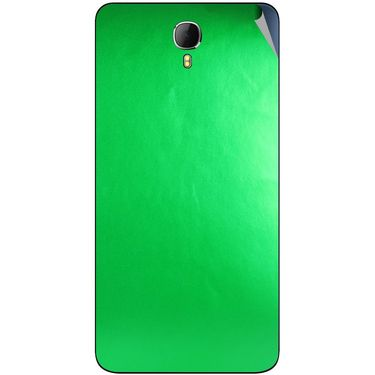 Snooky 43636 Mobile Skin Sticker For Intex Aqua Star 2 - Green