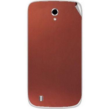 Snooky 43655 Mobile Skin Sticker For Intex Cloud Y4 Plus - Copper