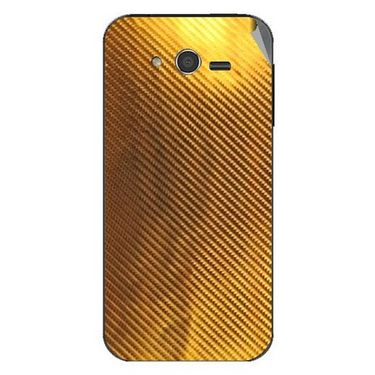 Snooky 43665 Mobile Skin Sticker For Intex Cloud Y5 - Golden