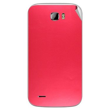 Snooky 43678 Mobile Skin Sticker For Intex Cloud Z5 - Red