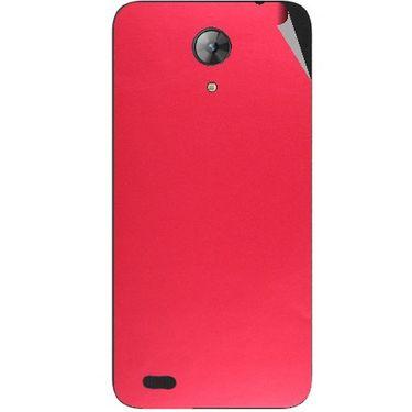 Snooky 43702 Mobile Skin Sticker For Intex Aqua Style Mini - Red