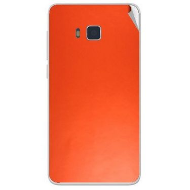 Snooky 43742 Mobile Skin Sticker For Lava Iris 406Q - Orange