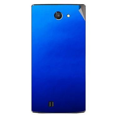 Snooky 43748 Mobile Skin Sticker For Lava Iris 456 - Blue