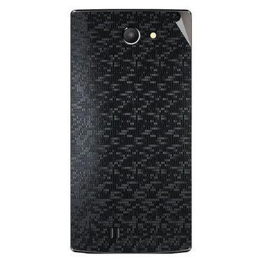 Snooky 43752 Mobile Skin Sticker For Lava Iris 456 - Black