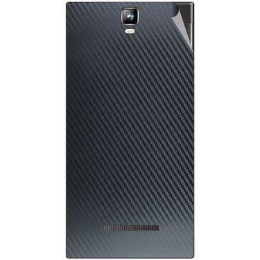 Snooky 43783 Mobile Skin Sticker For Lava Iris 504Q Plus - Black