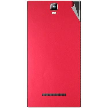 Snooky 43786 Mobile Skin Sticker For Lava Iris 504Q Plus - Red