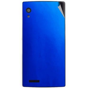 Snooky 43796 Mobile Skin Sticker For Lava Iris Fuel 60 - Blue