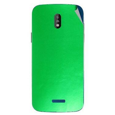 Snooky 43840 Mobile Skin Sticker For Lava Iris 450 - Green
