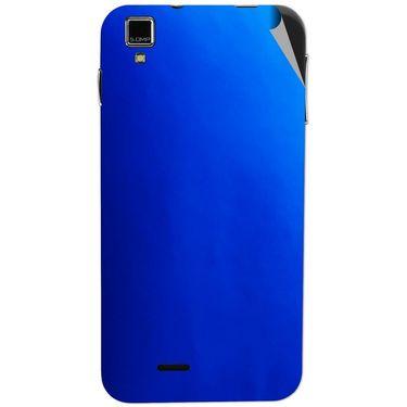 Snooky 43856 Mobile Skin Sticker For Lava Iris 405 Plus - Blue