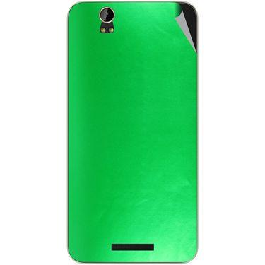 Snooky 43888 Mobile Skin Sticker For Lava Iris X1 - Green