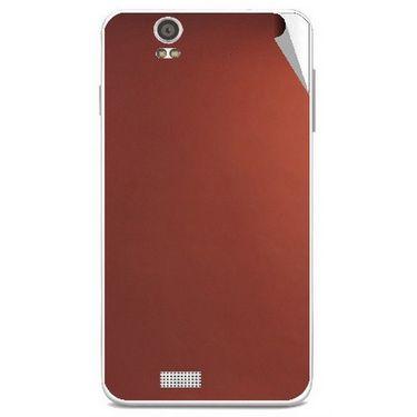 Snooky 43895 Mobile Skin Sticker For Lava Iris X5 - Copper