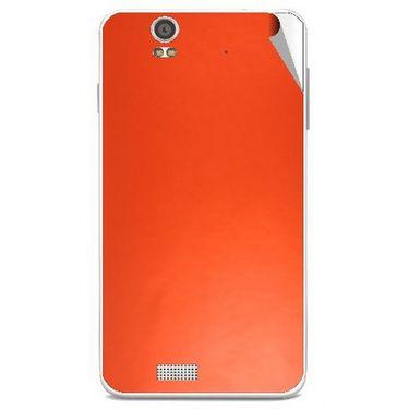 Snooky 43898 Mobile Skin Sticker For Lava Iris X5 - Orange