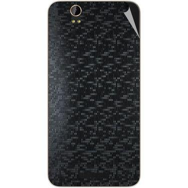 Snooky 43908 Mobile Skin Sticker For Lava Iris X1 Grand - Black