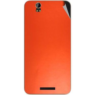 Snooky 43910 Mobile Skin Sticker For Lava Iris X1 Grand - Orange