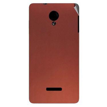 Snooky 43943 Mobile Skin Sticker For Micromax Canvas Fun A74 - Copper
