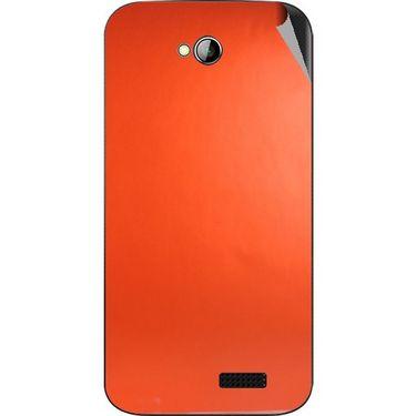 Snooky 43970 Mobile Skin Sticker For Micromax Bolt A089 - Orange