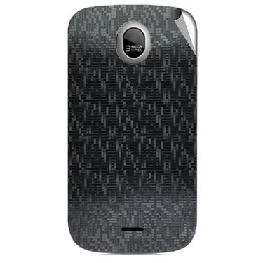 Snooky 43980 Mobile Skin Sticker For Micromax Ninja A89 - Black