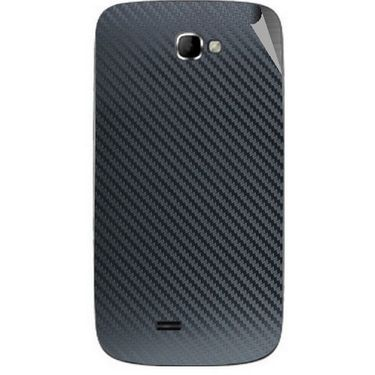 Snooky 43999 Mobile Skin Sticker For Micromax Canvas Engage A091 - Black