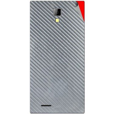 Snooky 44082 Mobile Skin Sticker For Micromax Canvas Xpress A99 - silver