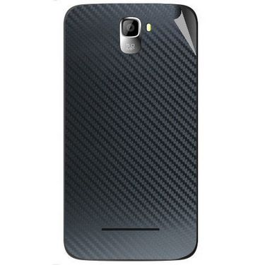 Snooky 44119 Mobile Skin Sticker For Micromax Canvas Entice A105 - Black