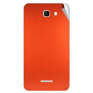 Snooky 44150 Mobile Skin Sticker For Micromax Canvas XL2 A109 - Orange