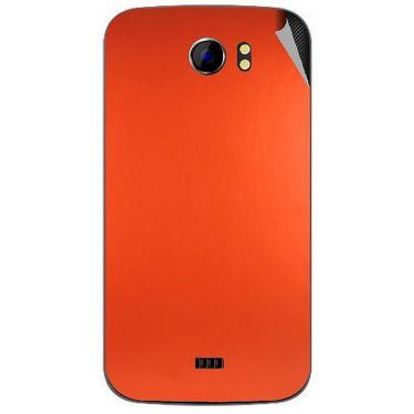 Snooky 44162 Mobile Skin Sticker For Micromax Canvas 2 A110 - Orange