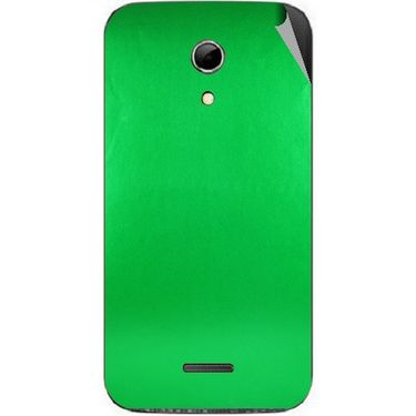 Snooky 44188 Mobile Skin Sticker For Micromax Canvas 2.2 A114 - Green