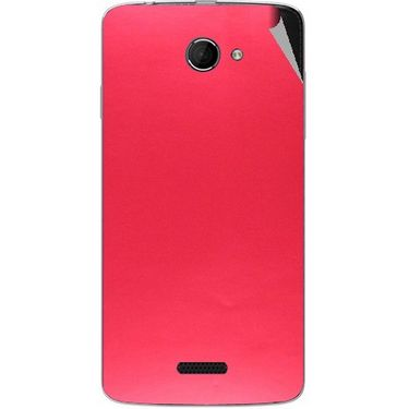 Snooky 44218 Mobile Skin Sticker For Micromax Canvas Elanza 2 A121 - Red
