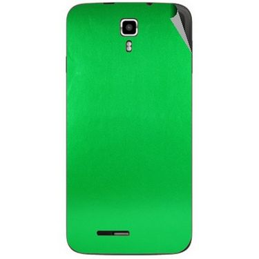 Snooky 44236 Mobile Skin Sticker For Micromax Canvas Juice A177 - Green
