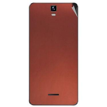 Snooky 44243 Mobile Skin Sticker For Micromax Canvas HD plus A190 - Copper