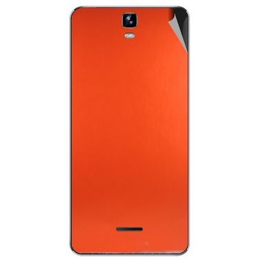 Snooky 44246 Mobile Skin Sticker For Micromax Canvas HD plus A190 - Orange